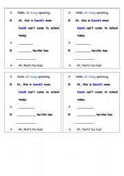 Worksheets Learning Korean Worksheets english teaching worksheets korea lesson 13 phone conversation dictation