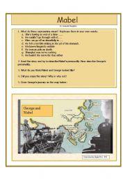 English Worksheets: Mabel