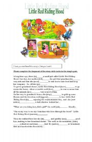 English Worksheet: Have you ever heard this story before?