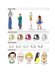 English Worksheets: appearances