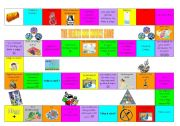 English Worksheet: Modal health and sport board game