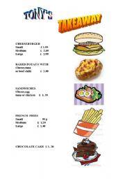 ordering food...
