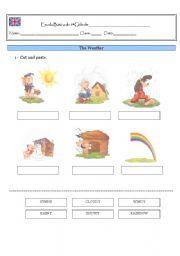 English Worksheets: Weather- Disney