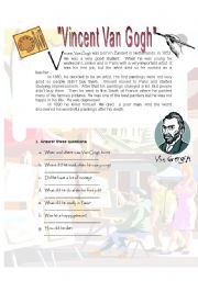 English Worksheets: Reading_Simple Past