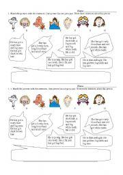 English Worksheets: Faces