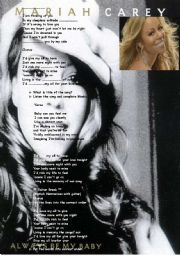 English Worksheets: My All by Mariah CAREY