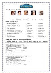 English Worksheets: ENCHANTED
