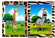 English Worksheets: Flashcards Wild Animals 1/2
