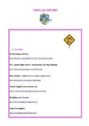 Useful sites for ESL teachers