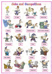 English Worksheet: Jobs and occupations (6 of 8)