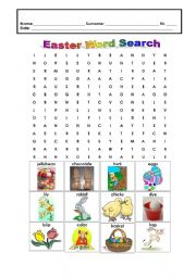 easter crosswords