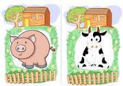 English Worksheet: Farm Animals flashcards 2