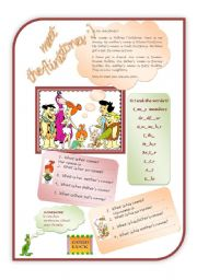 English Worksheet: introducing oneself and family members