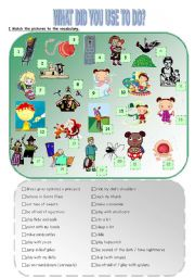 English Worksheet: 4 SKILLS LESSON ABOUT CHILDHOOD