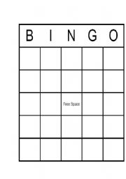 Bingo Blank Bingo Card In Word Format Level Elementary Age 3 17 Images Frompo