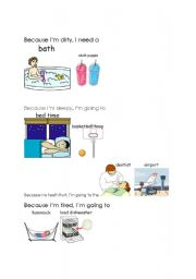 English Worksheets: Cause/Effect