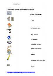 English Worksheet: Technical English-Vocabulary