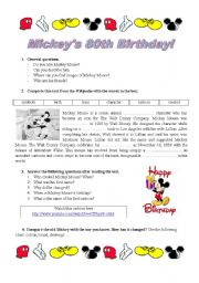 Mickey´s 80th Birthday