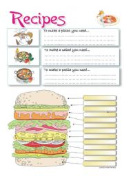English teaching worksheets recipes english worksheets recipes forumfinder Choice Image
