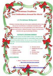 Christmas Webquest Project