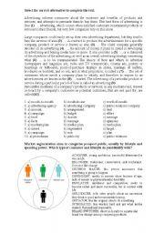 English Worksheet: Marketing Vocabulary