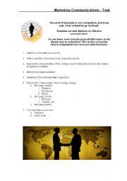 Marketing Communications - Task