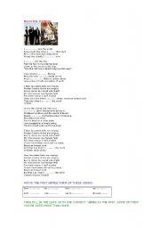 English Worksheets: SONG VIVA LA VIDA (Coldplay)