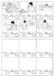 English Worksheets: That�s my life