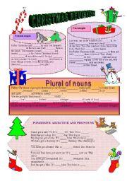 christmas revison - Plural Of Christmas