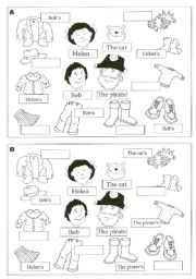 English Worksheet: Whose is that?