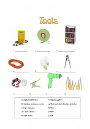Tools (For Electricity trainees)