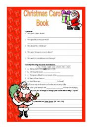 Christmas Carol - basic activity about the book/movie