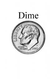 English Worksheet: Money Flashcards - U.S. Currency (Coins)