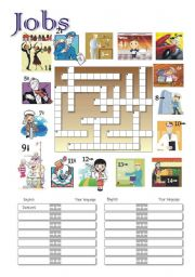 JOBS Crossword 1