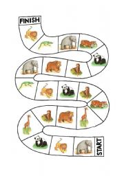 English Worksheet: Animal Game 2