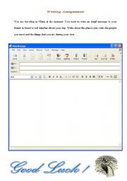 English Worksheets: Writing Assignment
