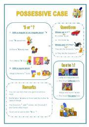 English Worksheet: Possessive case or genitive