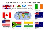 The flags of English speaking countries-2