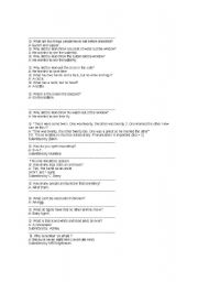 English Worksheets: Joke esl
