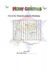 Christmas vocabulary - Part I