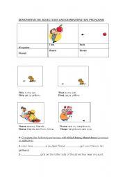 English worksheet: Demonstrative_Adjectives