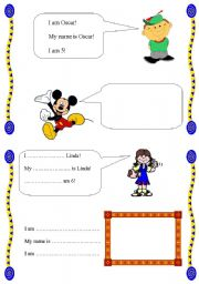 worksheet: Introduce yourself!