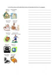 English Worksheets: Past Activities