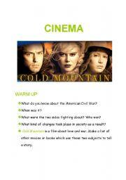 English Worksheet: cold mountain