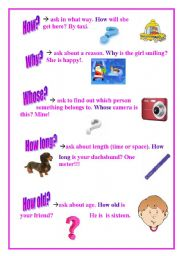 English Worksheets: Question Words-2
