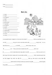 Mad Libs: At the Amusement Park