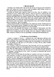 English Worksheets: various necessary topics