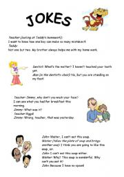 English Worksheets: Fun  For Everybody
