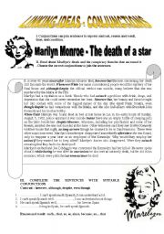 Conjunctions - Marilyn Monroe - The death of a star