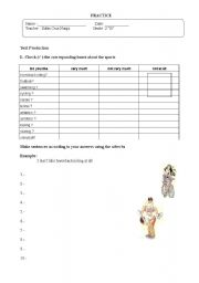English Worksheet: practice of adverbs of degree